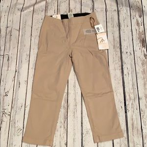 Pants - Miraclebody Cropped Jeggings tan size 4